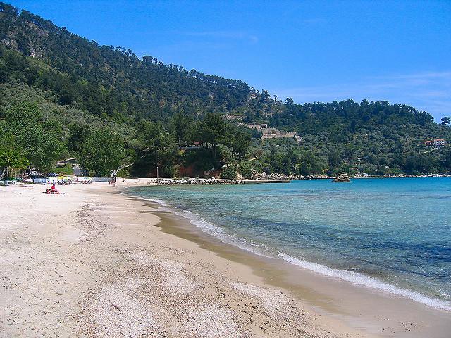 golden beach tasos